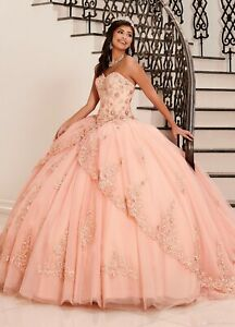 sweet bead applique corset quinceanera ball gown princess