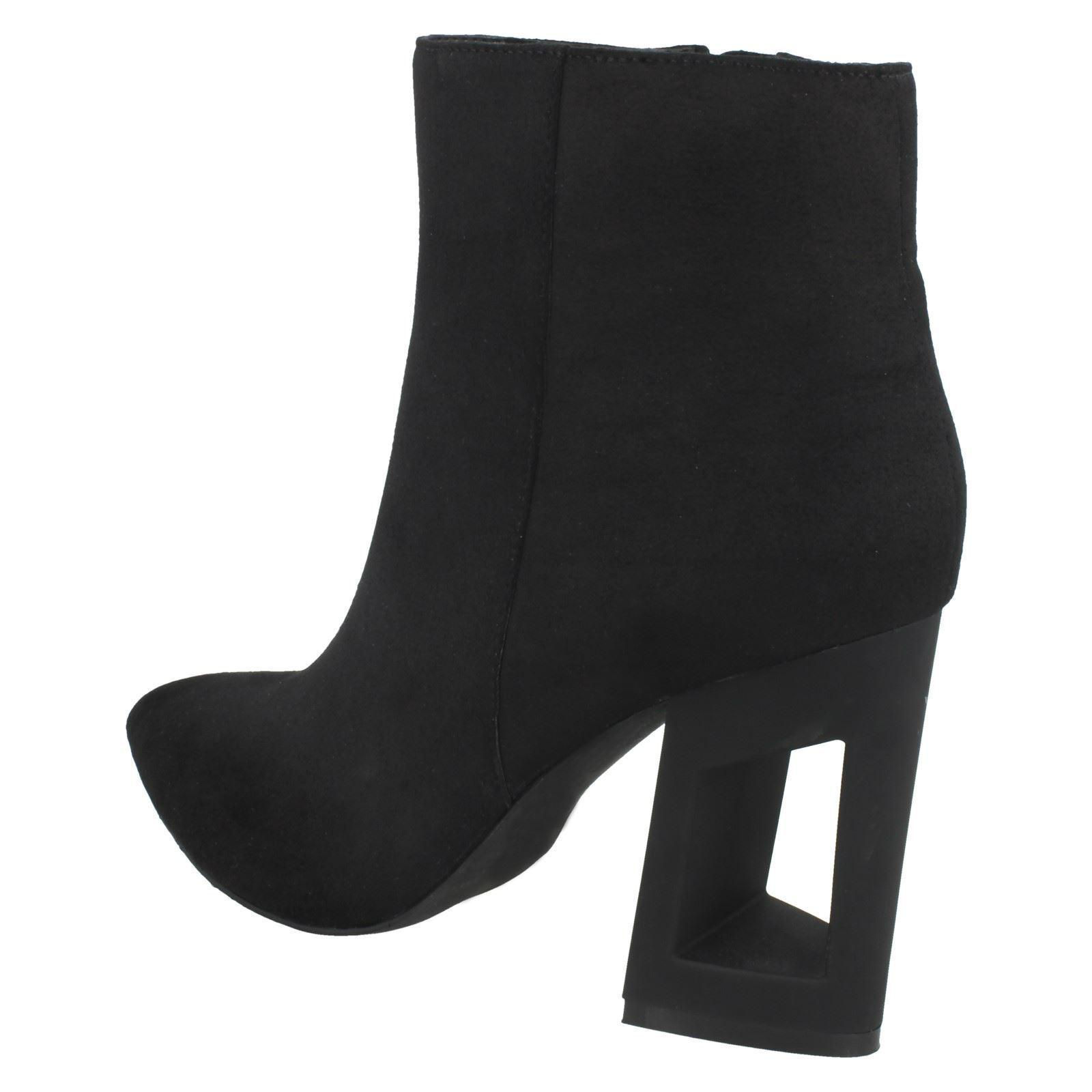 Damen F5R0887 F5R0887 Damen Mikrofaser Knöchel Stiefel Spot On Verkaufspreis af5438