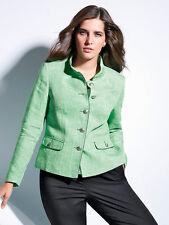 Womens Steinbock Herringbone Blazer Green Size 16 RRP £239 box5558 E