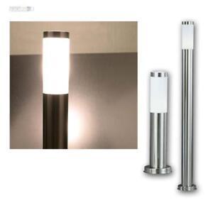 Aussen Stand Led Lampe Garten Weg Beleuchtung Edelstahl Terrassen Steh Leuchte Ebay