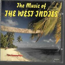 cd the music of THE WEST INDIES great party music non originals excellent cond
