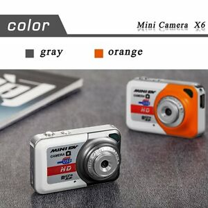 HD Ultra Portable 1280*1024 Mini Camera X6 Video Recorder Digital Small Cam LM