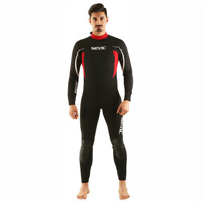 SEAC Relax 2.2mm Men/'s Neoprene Full Wetsuit