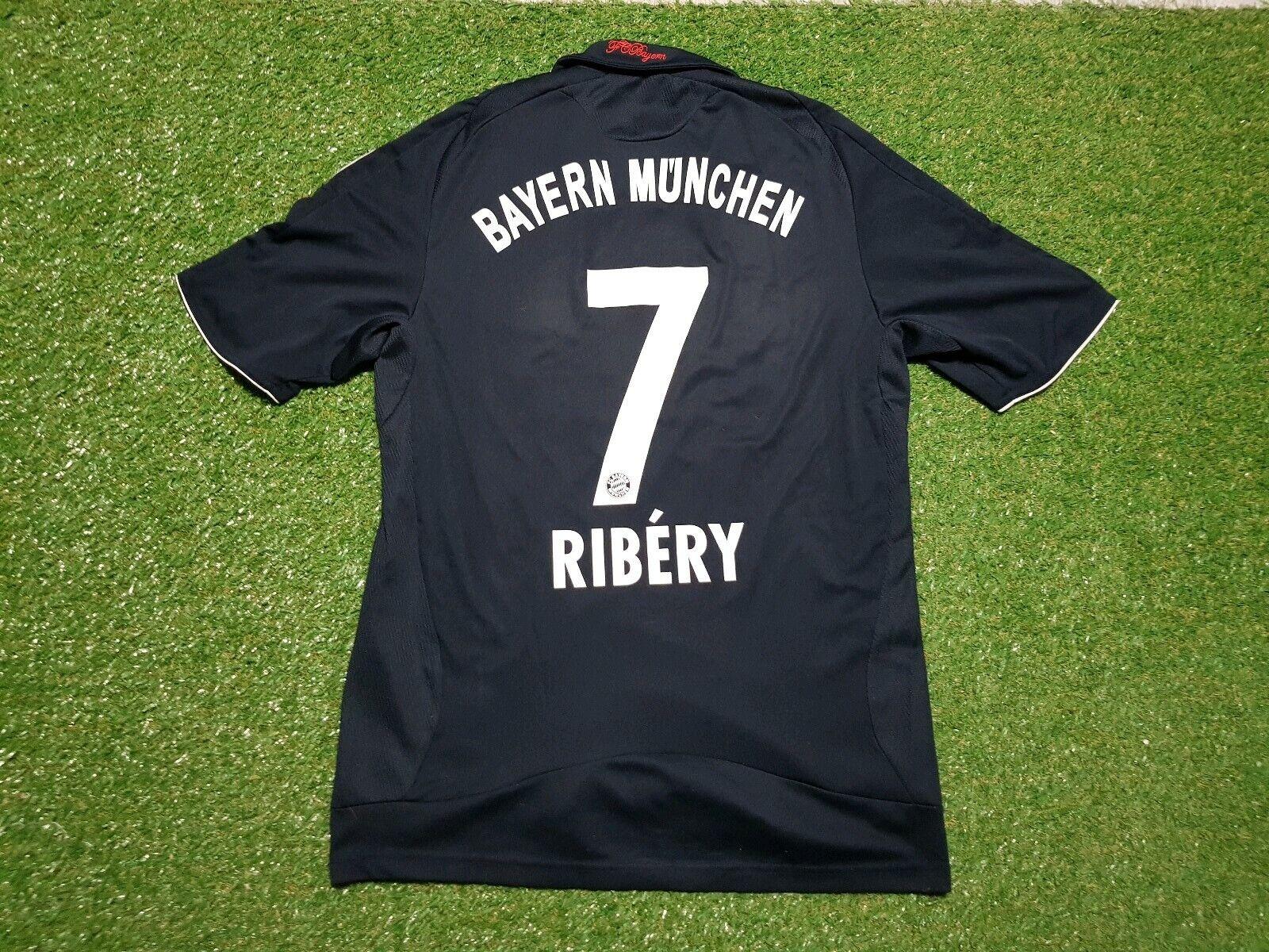 FC Bayern München Maglia M 2008 2009 Munich Munich Munich Adidas Maglietta Jersey Casa Ribery ec7
