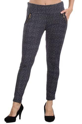 Womens Plus Size Leggings Stretch Pants Long Full Length Pants Trousers