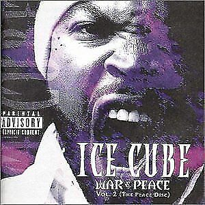ICE-CUBE-War-amp-Peace-Vol-2-The-Peace-Disc-CD-BRAND-NEW