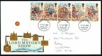 FDC - GB - 1989 The Lord Mayor's Show - First Day Cover.