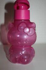 TUPPERWARE Eco Easy Trinkflasche HELLO KITTY mit Trinkverschluß 425 ml  NEU rosa