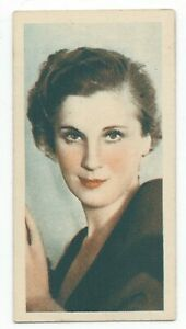 1934-Godfrey-Phillips-Film-Stars-Card-38-Diana-Wynyard
