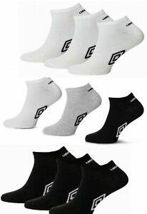 10Pairs BGW Genuine Umbro//6 Pairs BW Mens Trainer Ankle Sports Socks Cotton 6-11