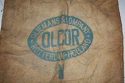 Antiquitäten & Kunst Kenntnisreich Kartoffelsack Oliemans Olcor Rotterdam 105 X 75 Sehrdick Getreide Saatgut
