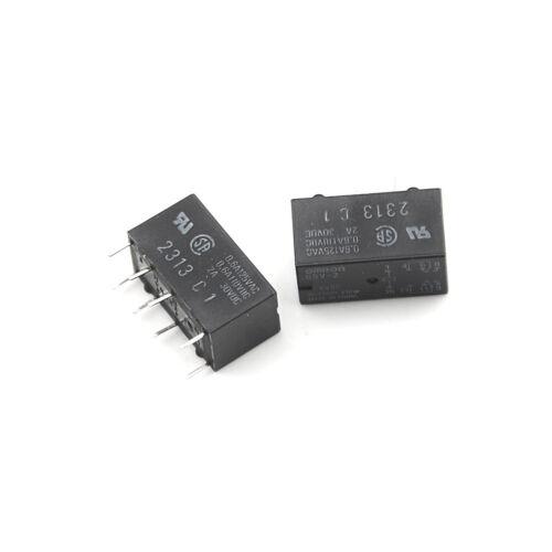 5pcs G5V-2 DC 5V 2A DPDT 8Pin PCB Mount Low-cost Signal RelayDOFS