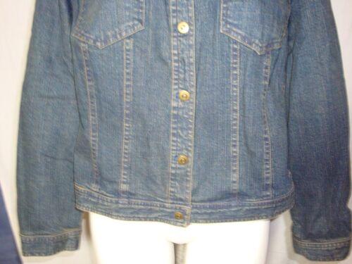 Krave Spanner Fur Jean Blue Jacket Stretchable Denim Faux Solid L Fjernbar pxrpfqw0z