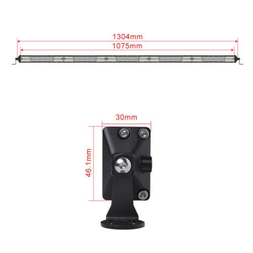 52inch CREE LED Work Light Bar Lamp Flood Spot Combo Offroad Driving 4WD SUV ATV