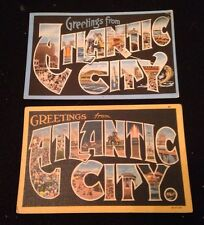 Vintage Postcard Lot Atlantic City Souvenir Pictures Panoramas Postmarked 1941
