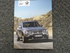 bmw x3 2009 xdrive30i ebay rh ebay com 2009 x3 owner's manual 2009 BMW