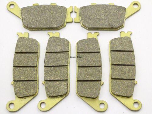 Front Rear Brake Pads For Kawasaki Z750 Z 750 Brakes 2007 2008 2009 Sintered SET