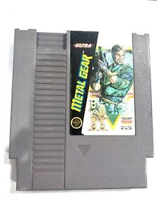 **Metal Gear ORIGINAL NINTENDO NES GAME Tested + Working & Authentic!