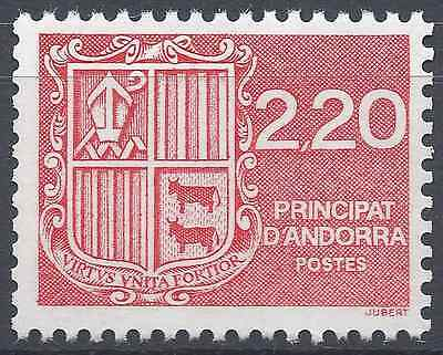 Europe Stamps Andorra French N°366 D Coat Of Arms'andorra Neuf Luxe Mnh Convenient To Cook