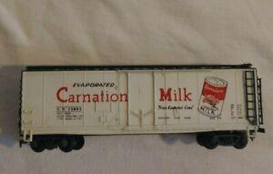 ATT HO SCALE Train Carnation Milk Reefer #435249