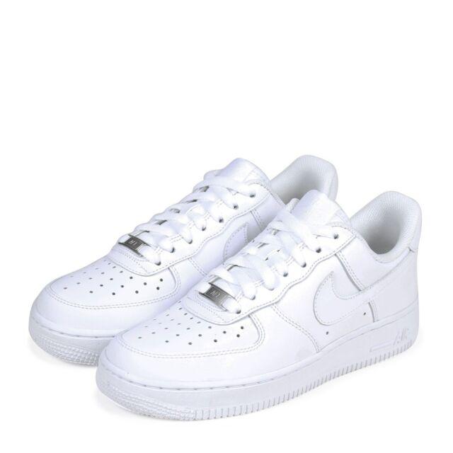 New Nike Air Force 1 '07 Women Size Basketball Shoes Triple White 315115 112