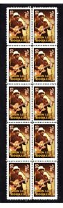 JOHN-LEE-HOOKER-BLUES-GUITAR-STRIP-OF-10-MINT-VIGNETTE-STAMPS-2