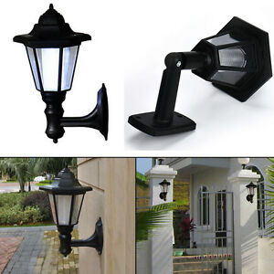 Solar-Power-LED-Light-Path-Way-Wall-Landscape-Mount-Garden-Fence-Lamp-Outdoor