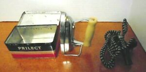 Vintage-Prilect-Travel-Iron-Made-in-England-with-original-tin