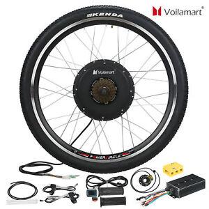 48v Electric Bicycle Bike Motor Conversion Kit 1500w 26 Rear Wheel Hub Cycling