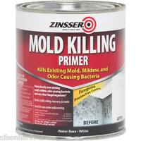 4 Qt Zinsser White Water Based Mold Killing Interior/exterior Primer 276087