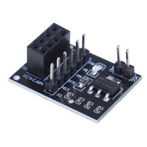 5x-Sockel-Adapterplatine-fuer-8pol-NRF24L01-Wireless-Transceive-I1
