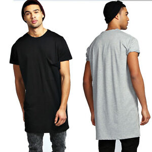 HIGHSHINE-034-EXTENDED-034-LONG-T-SHIRT-LANG-OVERSIZED-TALL-TEE-EXTRALANG-UBERLANGE
