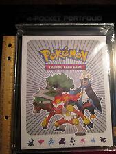 Pokemon  INFERNAPE+EMPOLEON+TORTERRA Binder/Folder/Album DIAMOND&PEARL Card Set