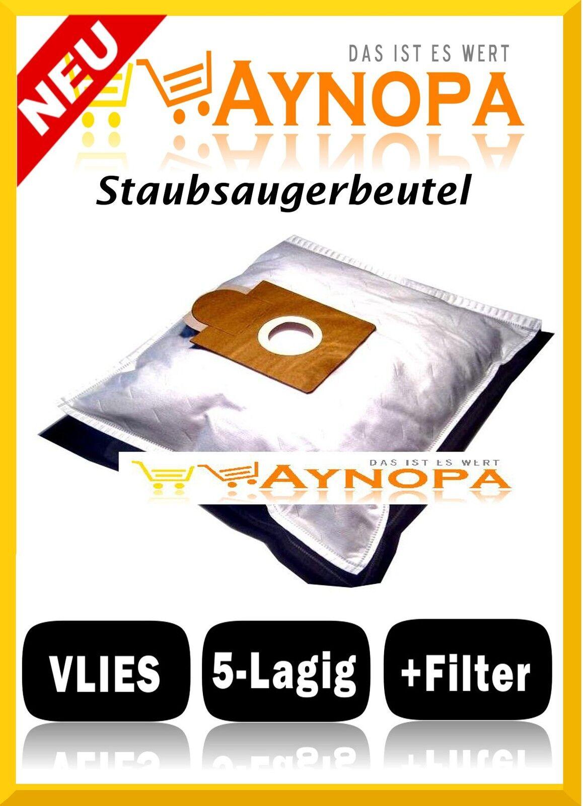 Staubsaugerbeutel für Brinkmann Topline 1300  1400  BS 48 1 und EWT ECO 2, Zento