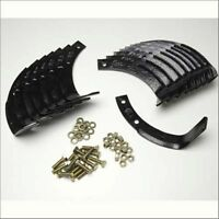 Tine Set 1901118/1901118a Mtd Cast Iron With Hardware Fits Some Tiller