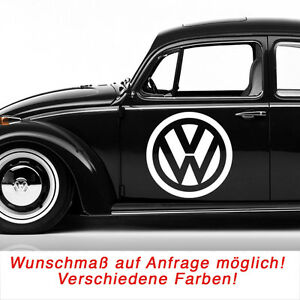 vw volkswagen logo autoaufkleber aufkleber sticker decal. Black Bedroom Furniture Sets. Home Design Ideas