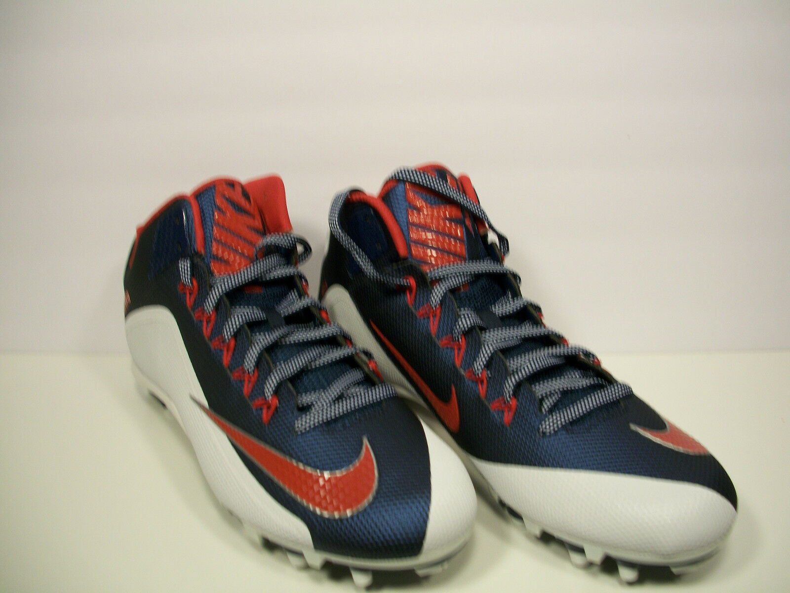 0c6fce0155 NIKE Mens Alpha Pro 2 3 4 TD Football Cleats Red bluee White 729444-413
