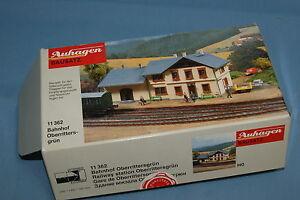 AUHAGEN-11-362-Railway-Station-034-Oberrittersgrun-034-HO