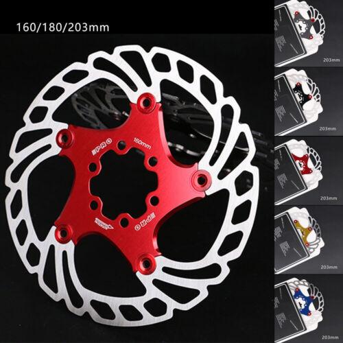 Fahrradbremsscheibe Schwimmende Bremsscheibe 160//180//203mm MTB Rotor Langlebig