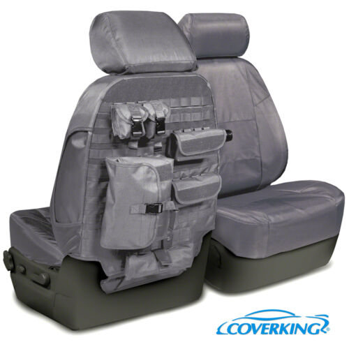 5102071-02 NEW Tactical Ballistic Charcoal Gray Seat Covers w//Molle System