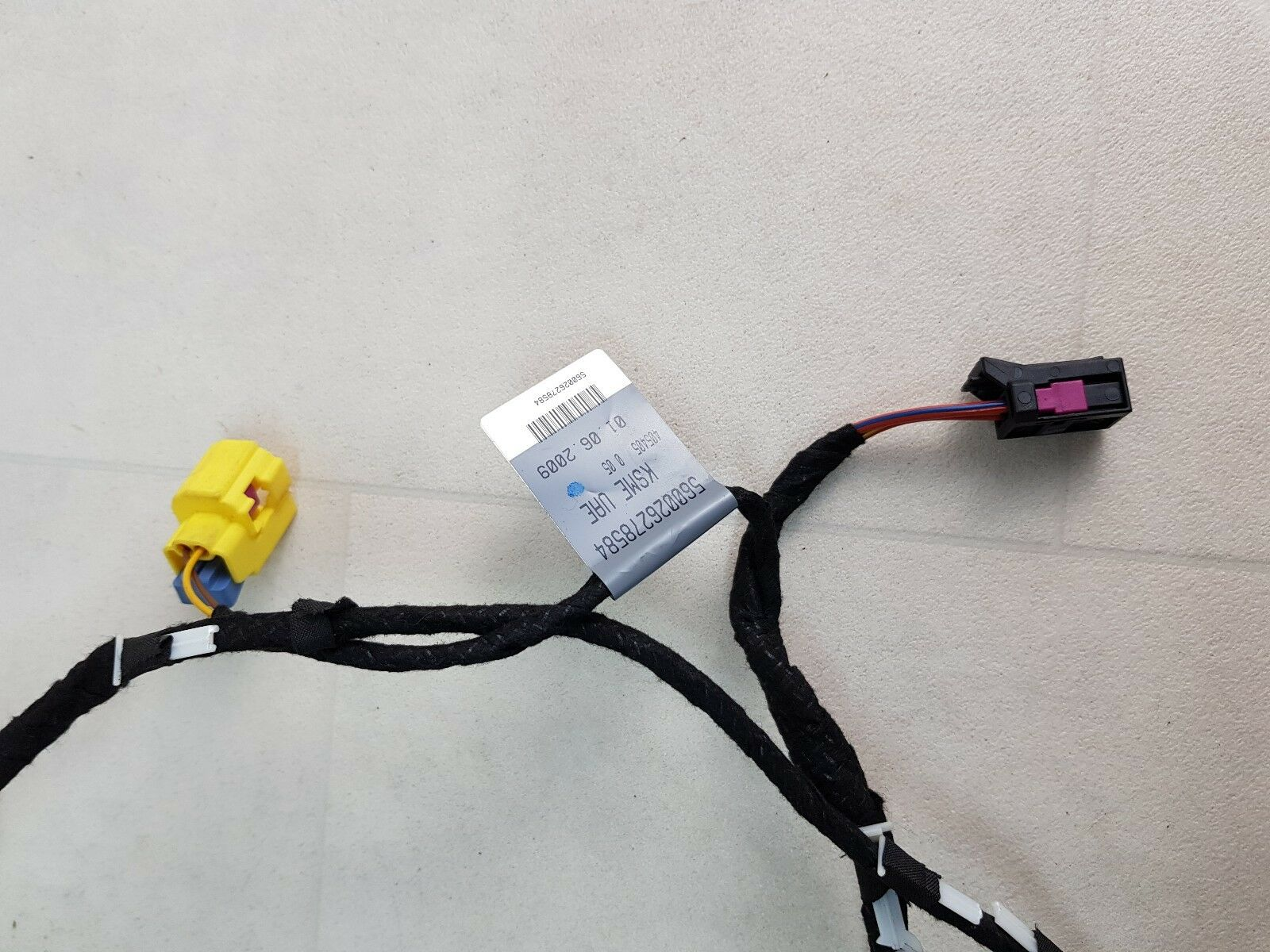 Audi A4 B8 Drivers Side Front Right Osf Door Wiring Loom Harness Bmw Tailgate 8k0971035a Ebay