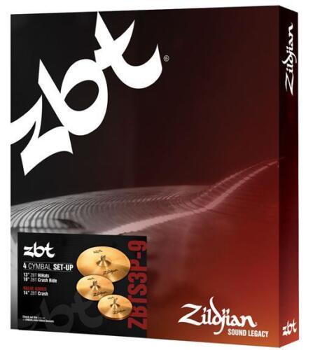 Zildjian ZBT ZBTS3P9 Cymbal Pack Set w/ 13 Hats, 14 Crash, 18 Crash Ride
