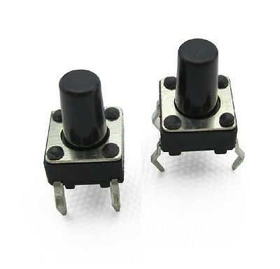 100pcs Micro switch push button 6X6X9MM 6 9 mm 6X6X9MM new 6