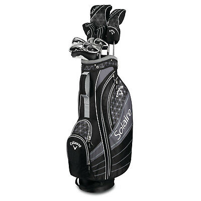 New Callaway Solaire 18 Complete Ladies Golf Package Set - 11 Piece - 2018