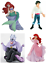 Official Bullyland Disney The Little Mermaid Figures Toys Cake Topper Toppers