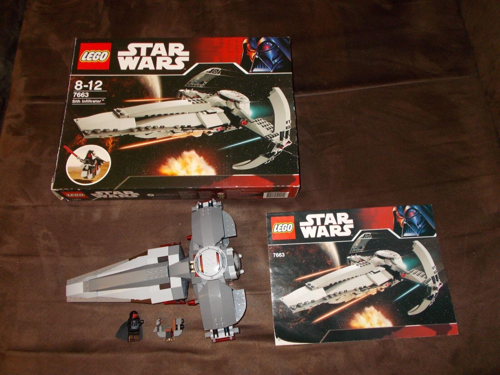 LEGO ® Star Wars - 7663-Sith 7663-Sith 7663-Sith Infiltrator-avec ba ET Neuf dans sa boîte a3722c