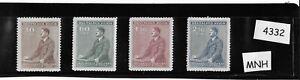 #4332   MNH stamp set / Adolph Hitler 1942 Birthday WWII Third Reich Occupation
