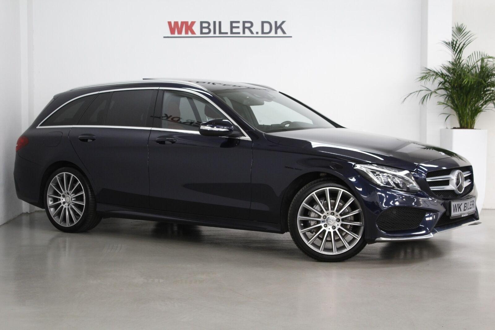 Mercedes C200 2,0 AMG Line stc. aut. 5d - 339.800 kr.