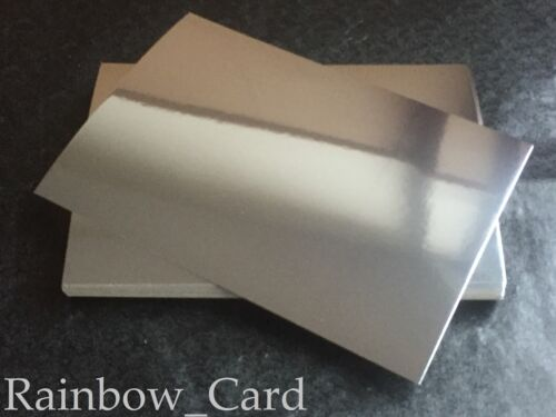 A4 CRAFTING CARD 300 GSM 20 SHEETS MIRRI SILVER MIRROR