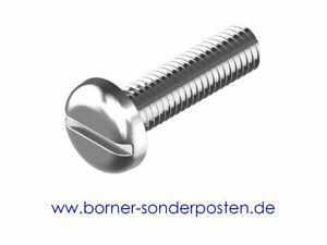Flachkopfschrauben-Schlitz-M-5-x-8-mm-DIN-ISO-1580-4-8-Stahl-galv-verz-2000-Stk